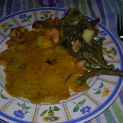 My dinner (girl 25 yeard old)