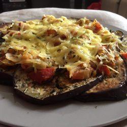 Eggplant Nachos